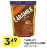 Cadbury Bagged Chocolate