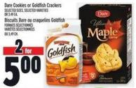 Dare Cookies Or Goldfish Crackers