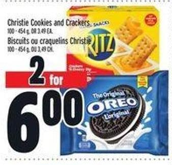 Christie Cookies And Crackers