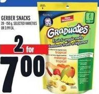 Gerber Snacks