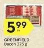 Greenfield Bacon - 40 Air Miles
