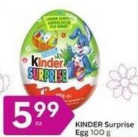Kinder Surprise Egg 100 g
