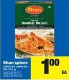 Shan Spices - 50-100 g