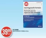 Life Brand Hair Regrowth Formula (60 Ml)