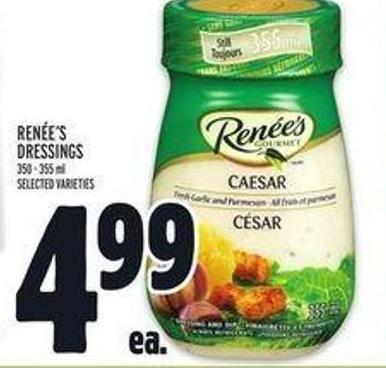 Renée's Dressings - 350-355 Ml