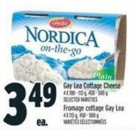 Gay Lea Cottage Cheese 4 X 100 - 113 g - 450 - 500 g