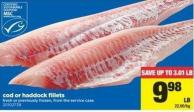 Cod Or Haddock Fillets