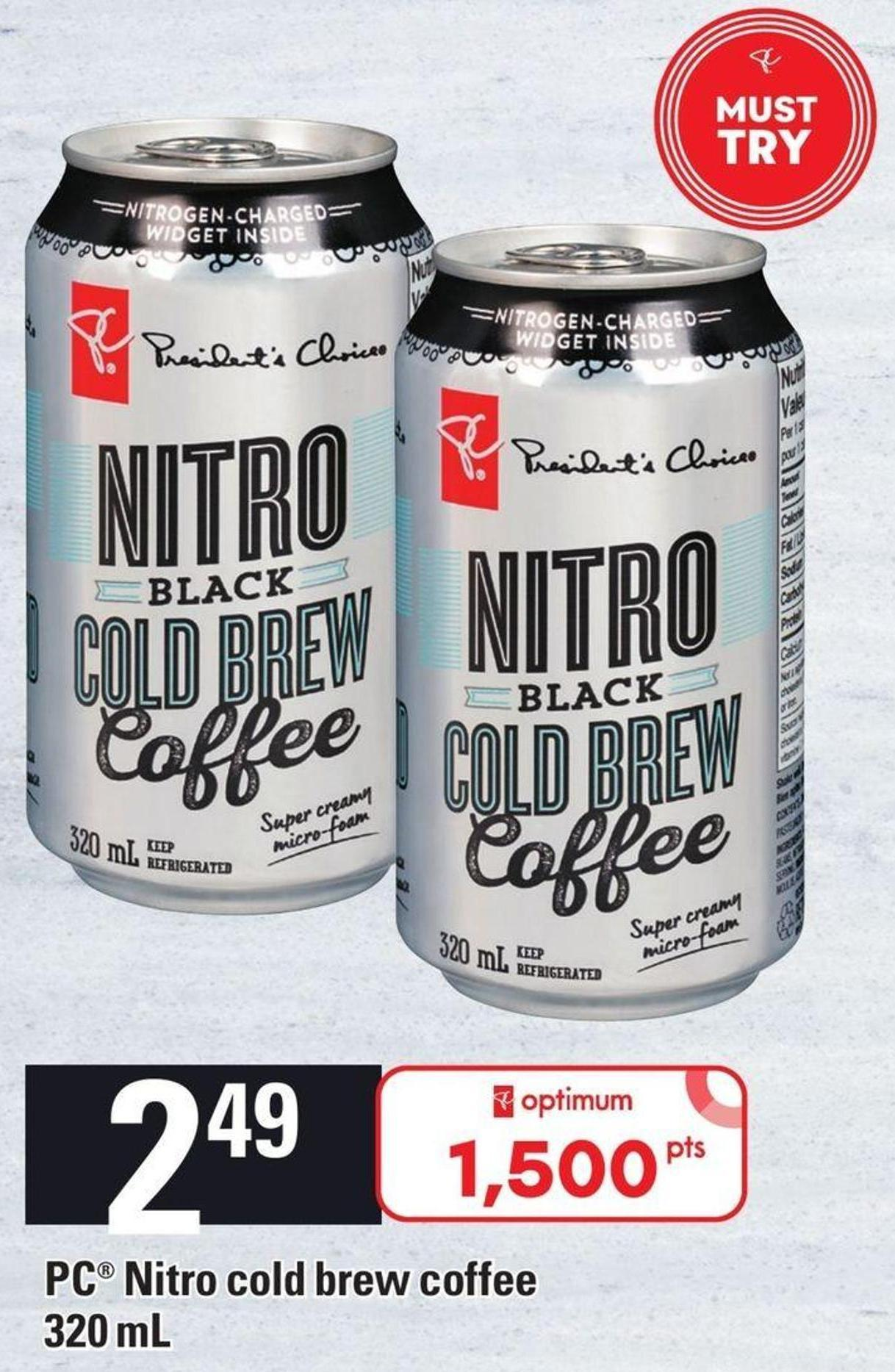PC Nitro Cold Brew Coffee - 320 Ml