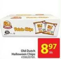 Old Dutch Halloween Chips