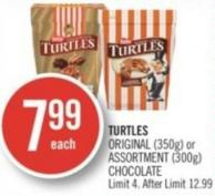 Nestle Turtles Original (350g) or Assortment (300g) Chocolate