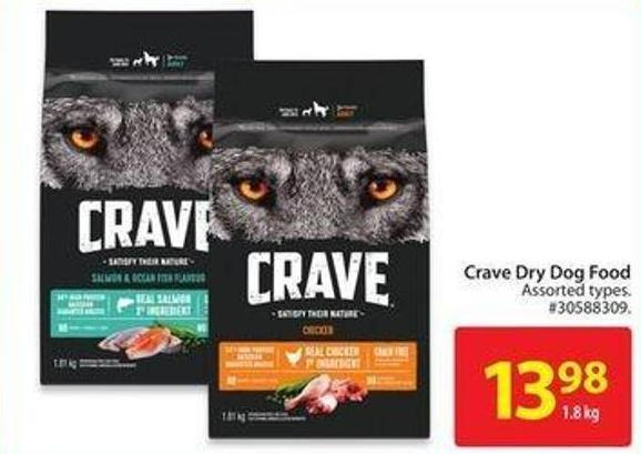 Crave Dry Dog Food