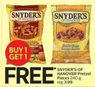 Snyder's Of Hanover Pretzel Pieces