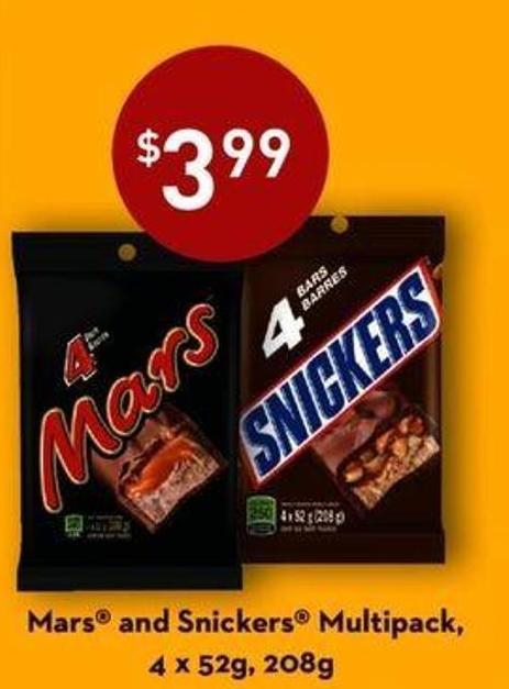 Mars And Snickers Multipack