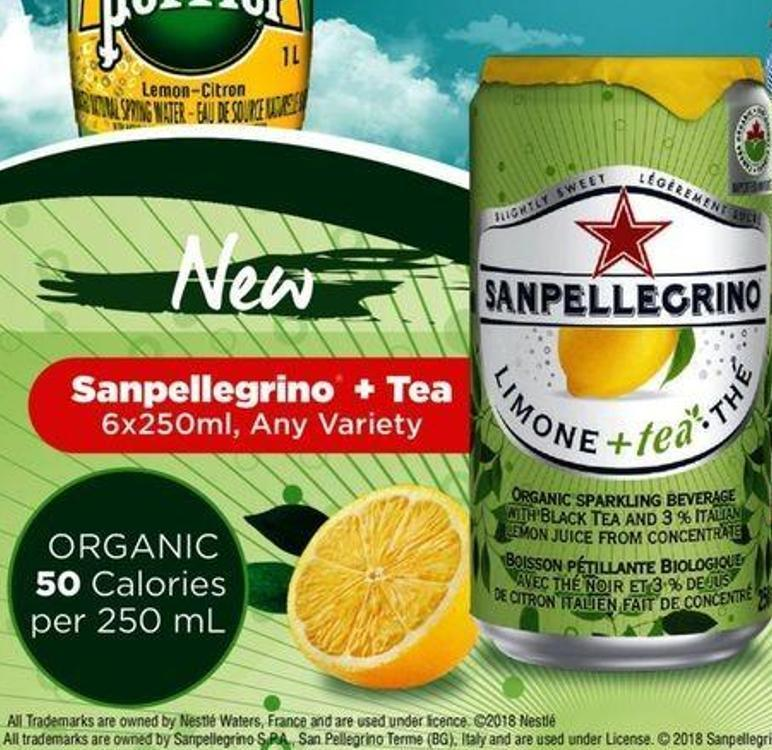 Sanpellegrino + Tea 6x250ml