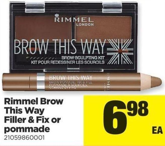 Rimmel Brow This Way Filler & Fix Or Pommade