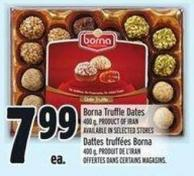 Borna Truffle Dates 400 g Product Of Iranav Ailable In Selected Stores