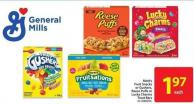 Mott's Fruit Snacks or Gushers - Reese Puffs or Lucky Charms Treat Bars