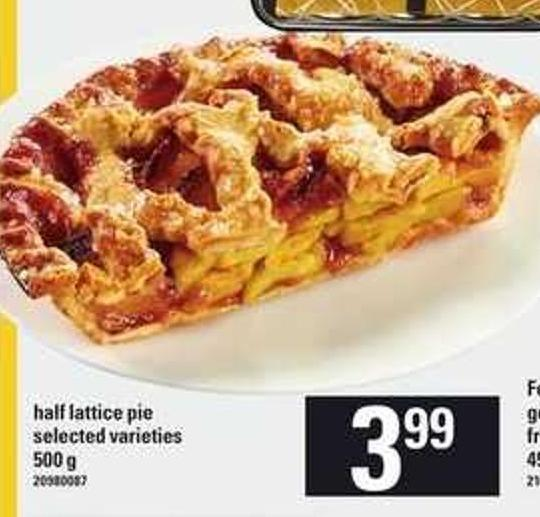 Half Lattice Pie - 500 g