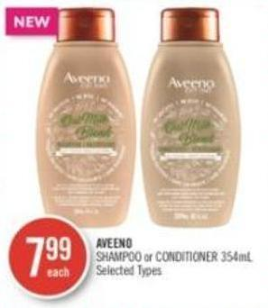 Aveeno Shampoo or Conditioner 354ml