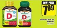 Jamieson Selected Vitamin D