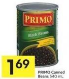 Primo Canned Beans