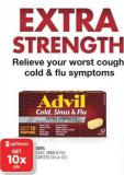 Advil Cold - Sinus & Flu Caplets 16's or 32's