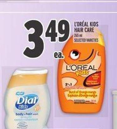L'oréal Kids Hair Care