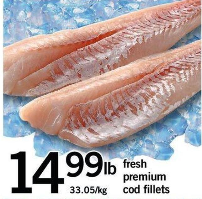 Fresh Premium Cod Fillets
