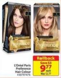 L'Oreal Preference Hair Colour