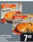 St-hubert Chicken Pot Pie Or Tourtiere - 610/645 g