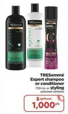 Tresemmé Expert Shampoo Or Conditioner 739 Ml Or Styling