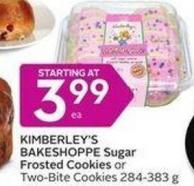 Kimberley's Bakeshoppe Sugar Frosted Cookies or Two-bite Cookies 284-383 g