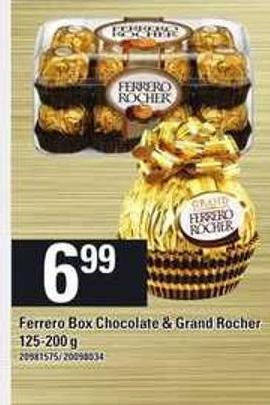 Ferrero Box Chocolate & Grand Rocher - 125-200 g