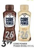 Core Power Protein Drinks 414 ml
