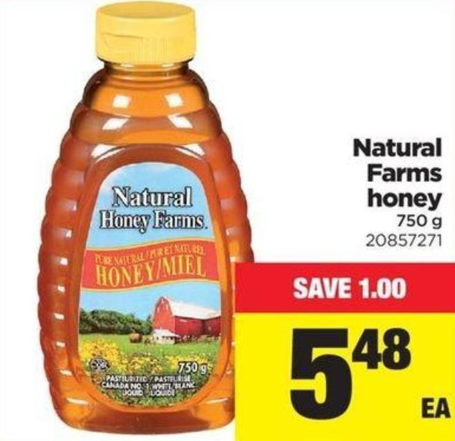 Natural Farms Honey - 750 G