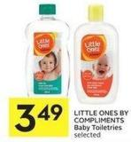 Little Ones By Compliments Baby Toiletries