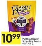 Purina Beggin' Strips Dog Treats