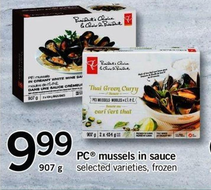 PC Mussels In Sauce - 907g
