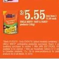 Uncle Ben's Fast & Fancy Products