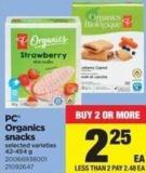 PC Organics Snacks - 42-454 g
