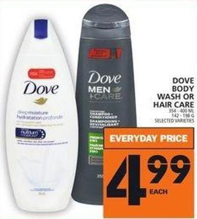 Dove Body Wash Or Hair Care