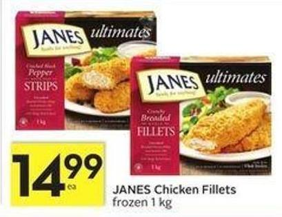 Janes Chicken Fillets