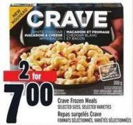 Crave Frozen Meals