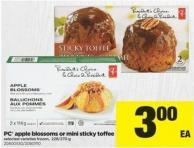 PC Apple Blossoms Or Mini Sticky Toffee - 228/270 g