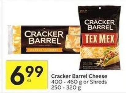 Cracker Barrel Cheese