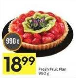 Fresh Fruit Flan 990 g