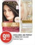 L'oreal Excellence - Age Perfect  or Féria Hair Colour