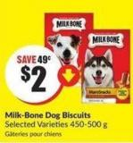 Milk-bone Dog Biscuits Selected Varieties 450-500 g