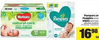 Pampers Or Huggies - 9/10x Wipes - 504-720s