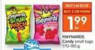 Maynards Candy - 50 Air Miles Bonus Miles